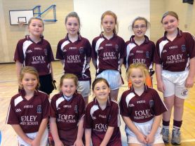 Foley Girls At County 5-a-side Football