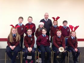 Foley Bring Christmas to Ballymacnab Senior Citizens