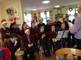 Primary 5-7 School Choir At Annvale Day Care Centre