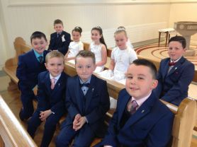 Foley First Communion 2016